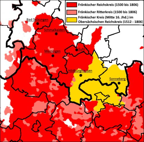 Henneberg-Franken Reichskreise