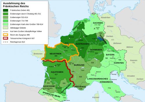 Königreich der Franken Henneberg-Franken