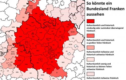 Bundesland Franken