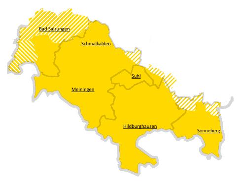 Franken im Freistaat Thüringen