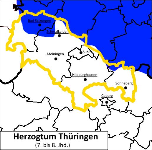 Henneberg-Franken Herzogtum Thüringen