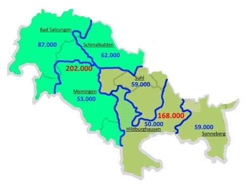 Neue Landkreise 3 2