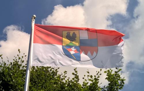 Planungsregion-Henneberg-Franken-Fahne
